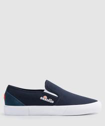 Prazzo navy slip-on sneakers