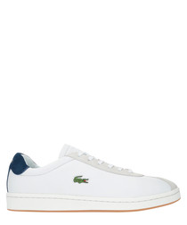 Masters 119 off-white leather sneakers