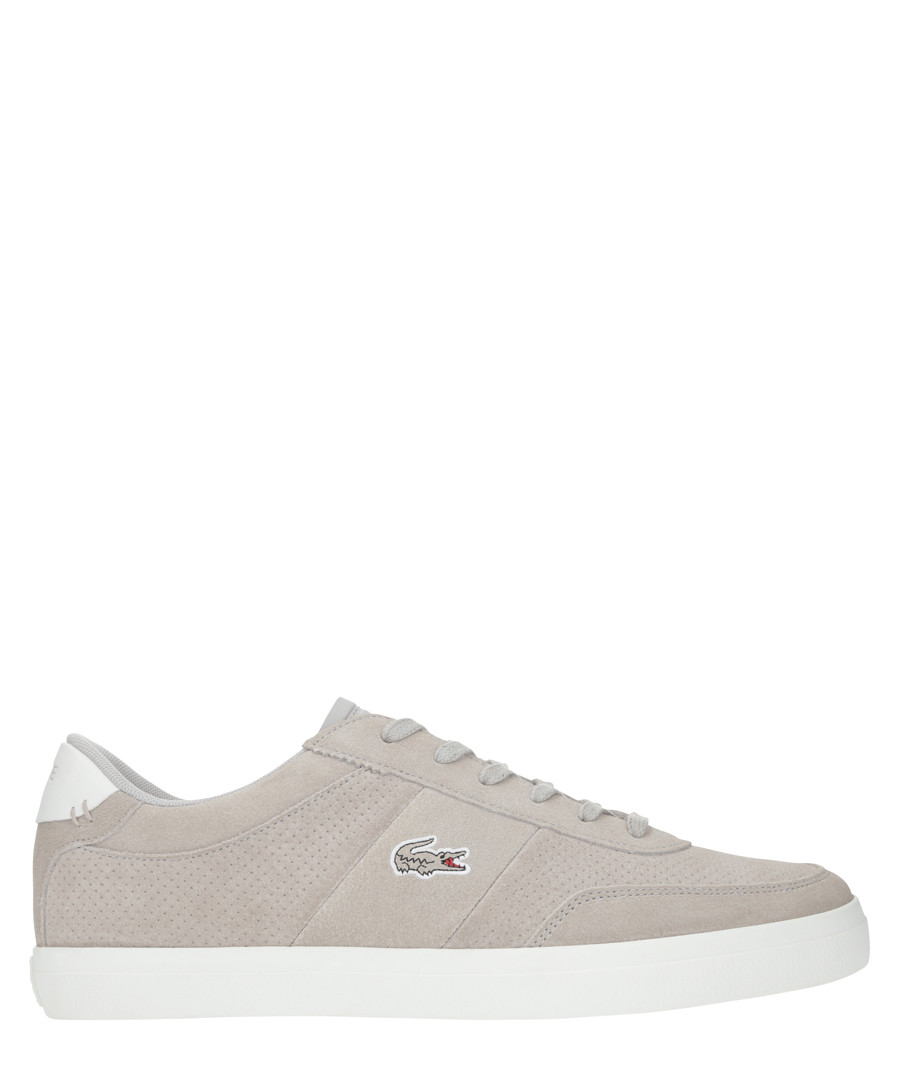 Court-master 219 grey suede sneakers Sale - lacoste