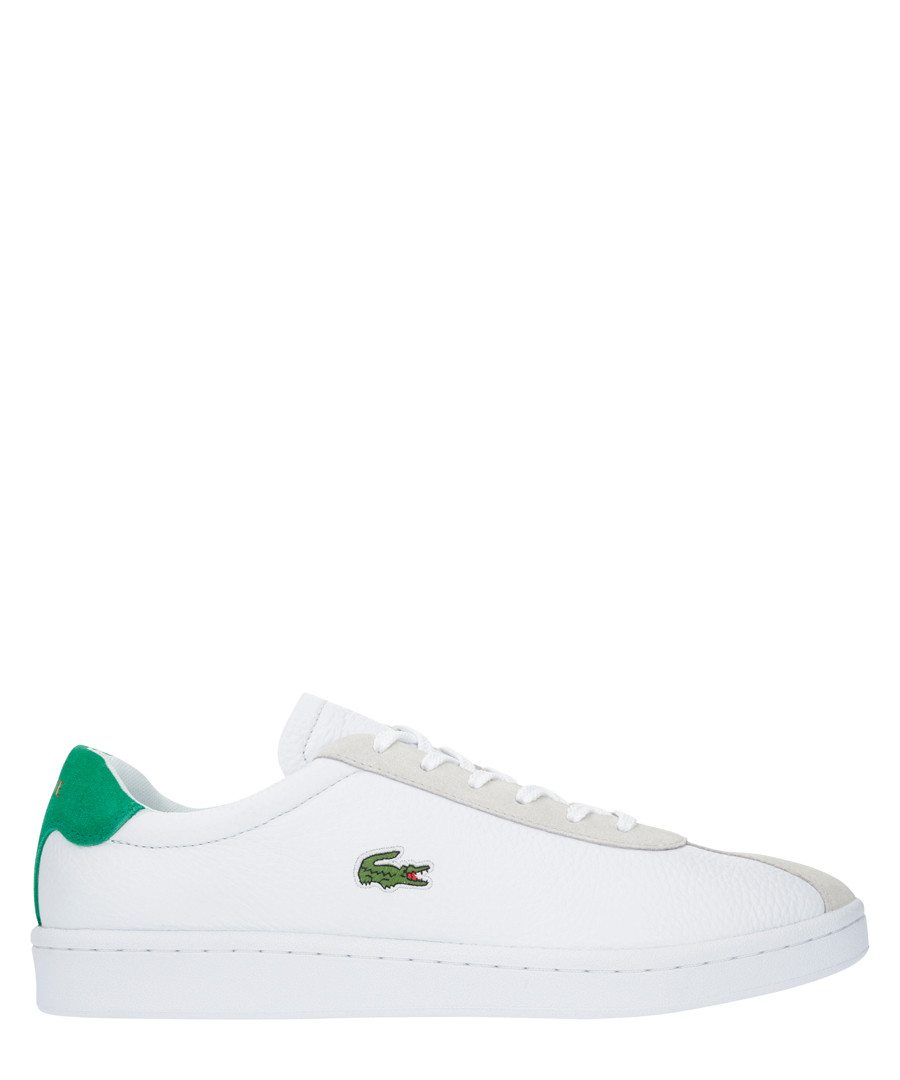 Masters 119 white & green sneakers Sale - lacoste