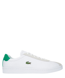 Masters 119 white & green sneakers