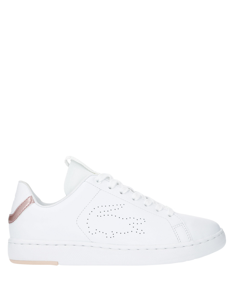 Carnaby evo light white leather sneakers Sale - lacoste