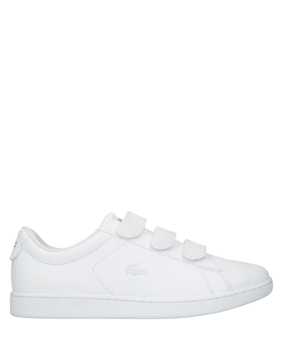Carnaby evo white leather sneakers Sale - lacoste