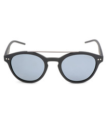 Black & silver-tone sunglasses