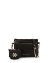 Black purse & triple pocket crossbody