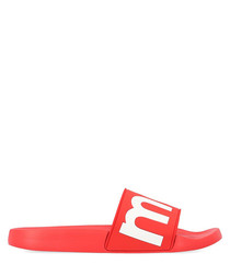 Howee red logo sliders