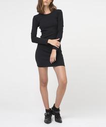 Typical black mini dress