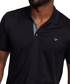 Black pure cotton polo shirt Sale - true religion Sale