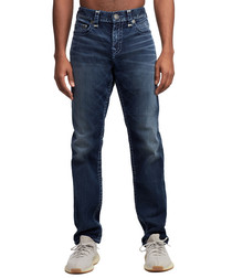 Geno blue wash slim jeans