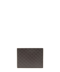 Guccissima brown leather wallet