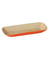 Kyoto orange bamboo tray