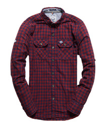 Navy Grindle Grindlesawn Long Sleeve Shirt