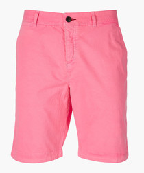 Echo Pink Hyper Pop Chino Short