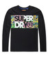 Black Acid Pacifica Oversize Long Sleeve T-Shirt Sale - superdry Sale
