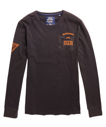 Acid Wash Black World Tour Long Sleeve T-Shirt