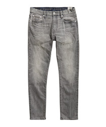 Selvedge Croft Black Premium Slim Tyler