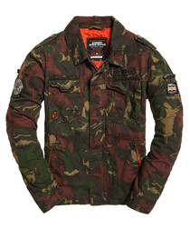 Ghost Camo Limited Edition Flight Bomber Jacket