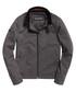 Heather Grey Herringbone Premium Casual Harrington Jacket Sale - superdry Sale