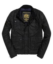 Black Premium Casual Harrington Jacket
