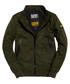 Khaki Premium Houndstooth Harrington Jacket Sale - superdry Sale