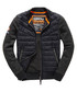 Gritty Black Moody Night Flight Lite Bomber Jacket Sale - superdry Sale