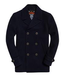 Navy New Merchant Pea Coat