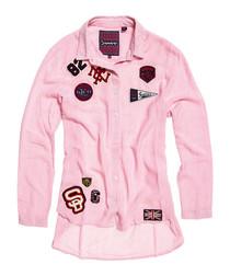 Pink Stripe Frankie Shirt