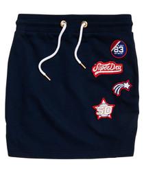 Marina Navy Pacific Mni Skirt