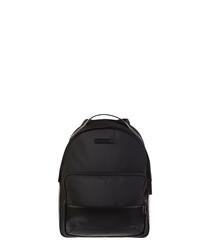 Black front pocket backpack