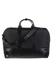 Black contrast weekend bag