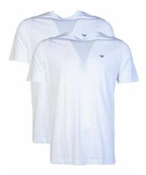 2pc White pure cotton T-shirt set