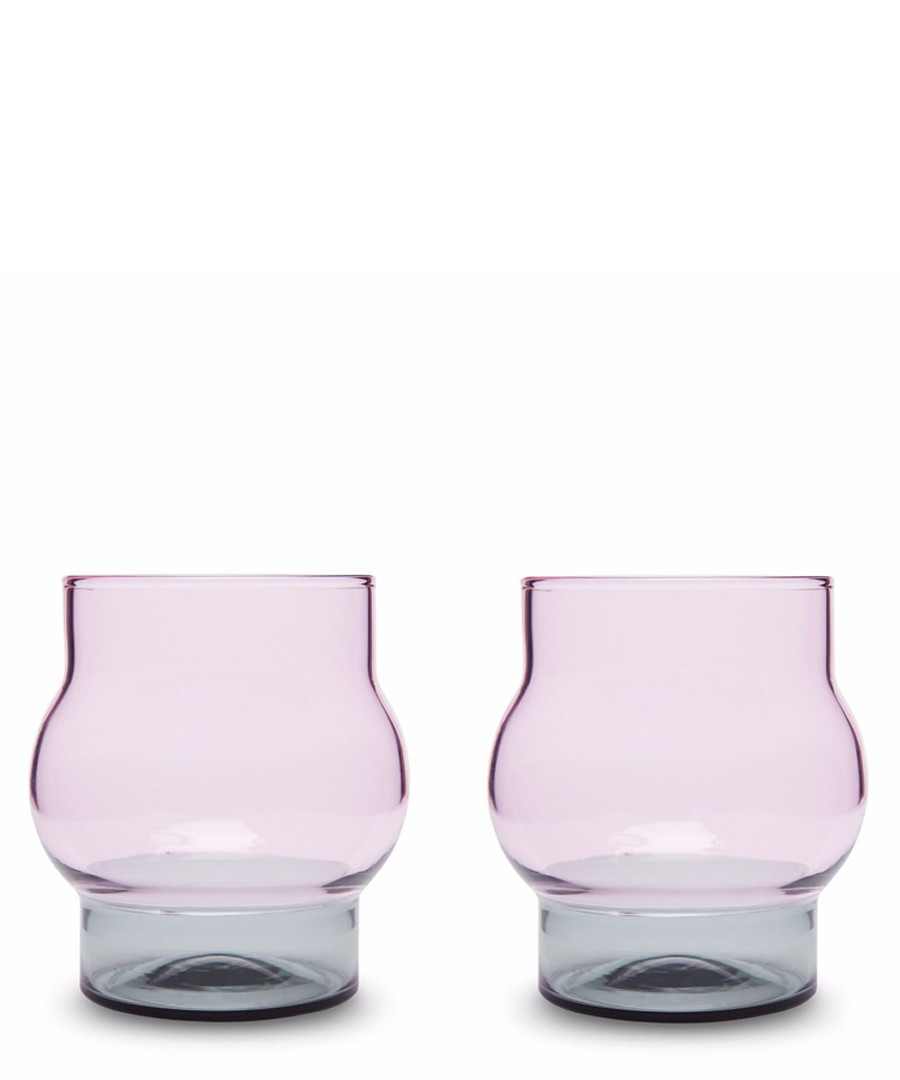 2pc Bump short glass set Sale - Tom Dixon