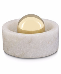 Stone marble spice grinder