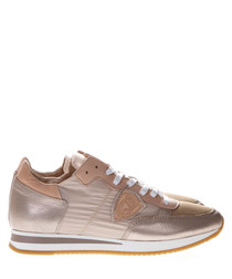 Tropez rose leather sneakers