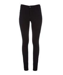 620 black mid-rise super skinny jeans