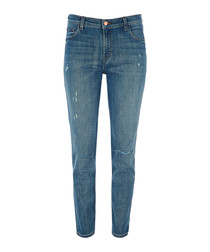 Johnny mid-rise boyfit jeans