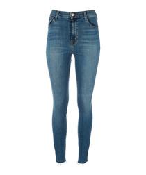 Leenah vaporous high-rise skinny jeans