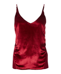 Lucy venetian red cami top
