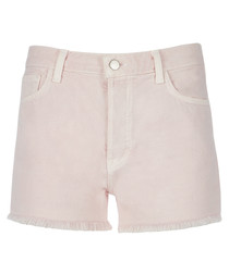 Gracie faded pandora high-rise shorts