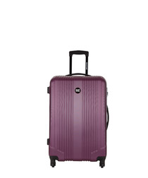 Ground violet spinner suitcase 45cm