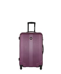 Ground violet spinner suitcase 55cm