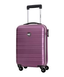 Live violet spinner suitcase 70cm