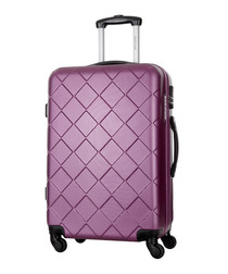 Sweety violet spinner suitcase 50cm