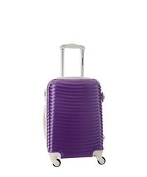 Honey violet spinner suitcase 50cm