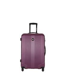 Live violet spinner suitcase 55cm