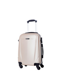 Holiday beige spinner suitcase 60cm