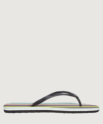 Multi-colour printed sandals