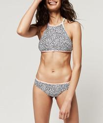 Lanka printed bikini set