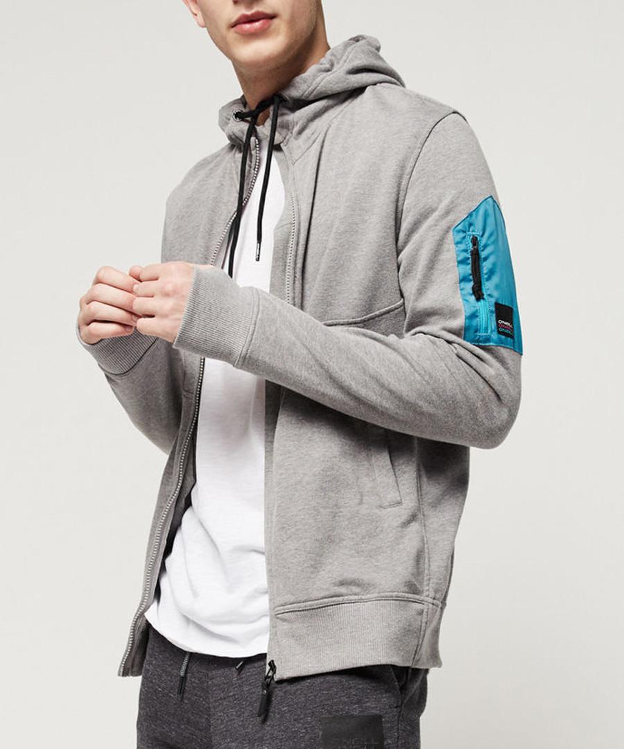 Grey cotton blend hoodie Sale - o neill