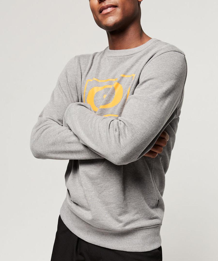 Grey cotton blend crew sweatshirt Sale - o neill